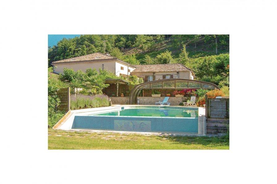 Villa with private pool in Castelnaud-de-Gratecambe