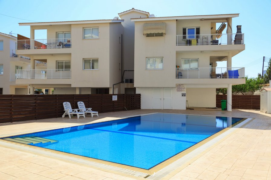 Avlida D27 - Modern 2 Bed Apartment - Shared Pool