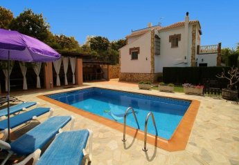 5 bedroom Villa for rent in Frigiliana