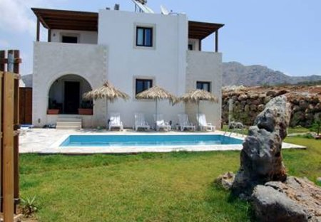 Villa in Makri Gialos, Crete: Aeolus 5 bedroom holiday rental villa with private pool