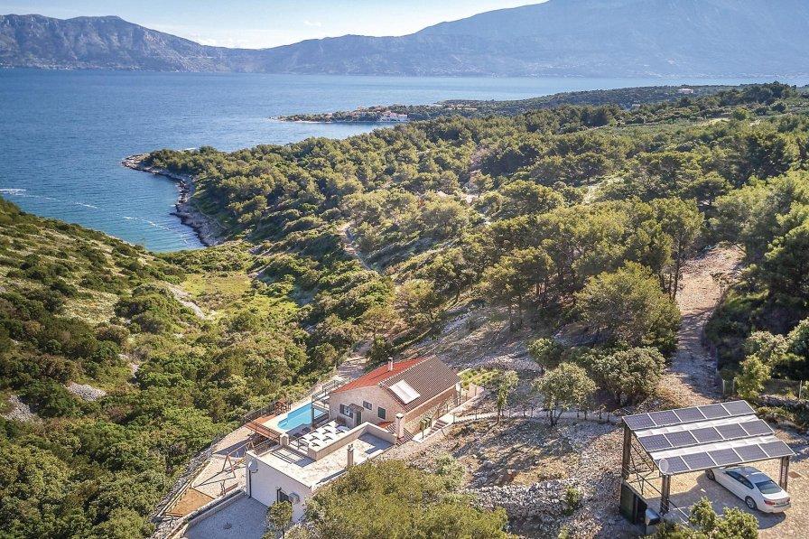 Villa in Croatia, Povlja