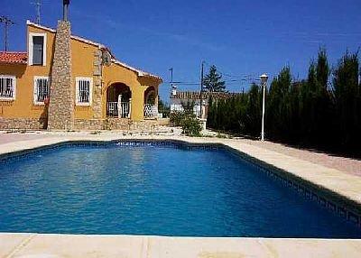 Villa in Spain, Jalon: Villa Benibrai (Jalon - Alicante)