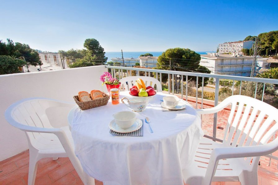 Apartment in Spain, Canyelles-Almadrava-puig-rom