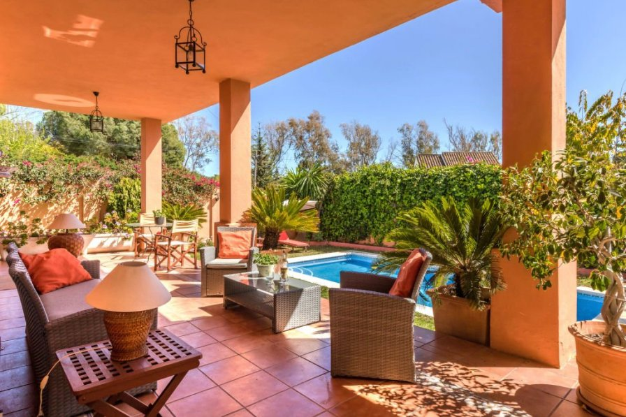 Owners abroad Holiday villa in Marbella with private pool