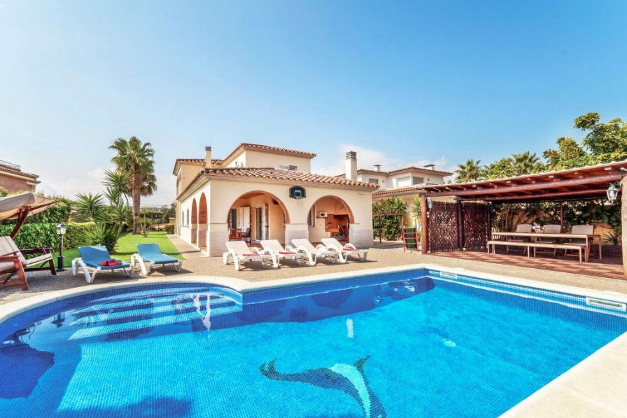 House To Rent In Urbanitzaci 243 Puigsesforques Spain With