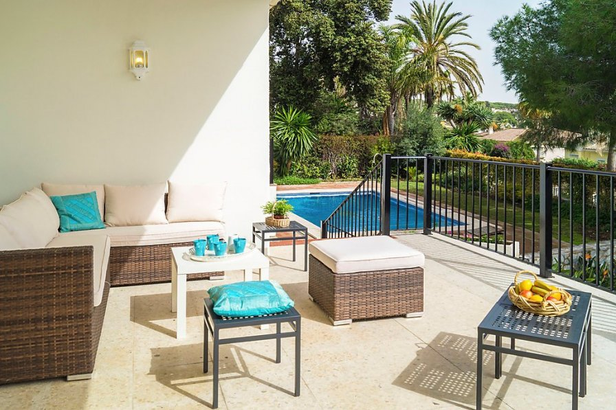 Owners abroad Marbella holiday villa rental with private pool