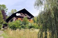 Country_house in Slovenia, Kamnik: Exterior of the property from the garden in Summer.