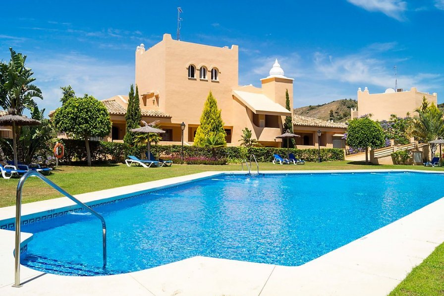 Owners abroad Holiday apartment in Marbella with swimming pool