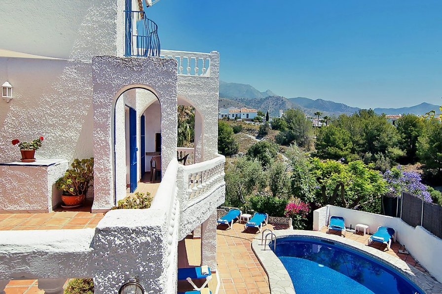 House To Rent In Nerja Spain With Private Pool 243728