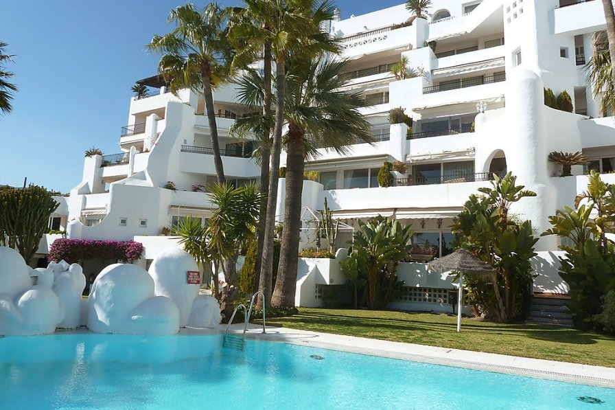 Owners abroad Apartment rental in Torremolinos with swimming pool