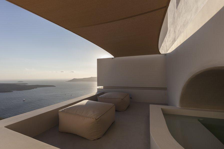 Villa in Greece, Thera