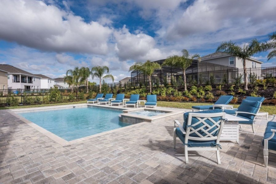 villa to rent in kissimmee florida with private pool 244122. Black Bedroom Furniture Sets. Home Design Ideas