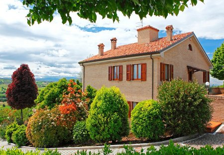 Villa in Gradara, Italy