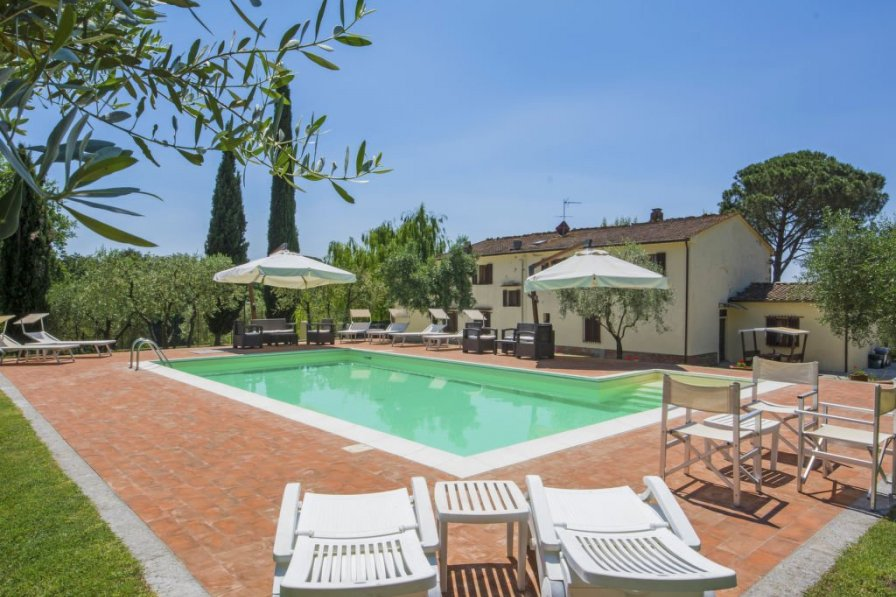 Villa in Italy, Lamporecchio