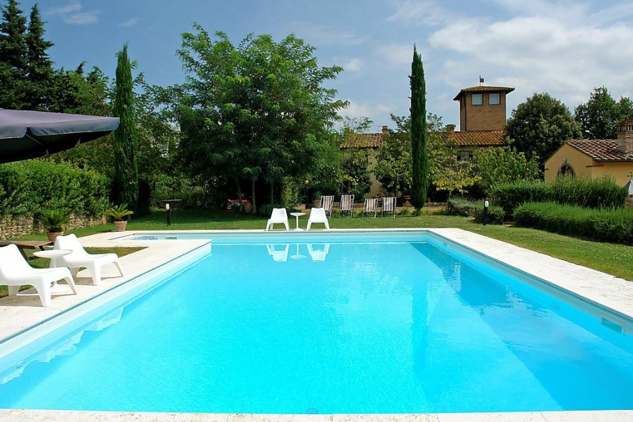Owners abroad Castelfiorentino holiday villa rental with private pool