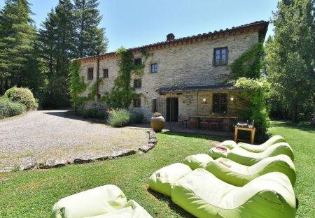 Villa in Gaiole in Chianti, Italy