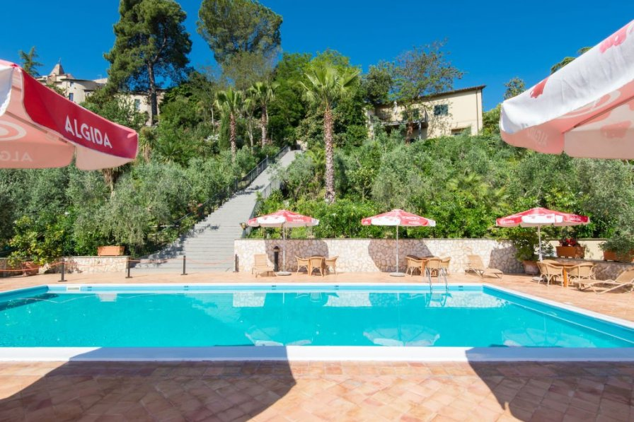 Owners abroad Apartment rental in Collevecchio with swimming pool
