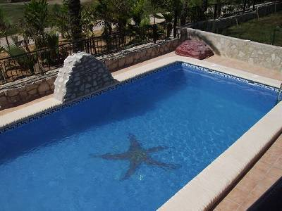Villa in Spain, Club de Golf La Finca: Private Swiming Pool is 9 meters by 4 meters