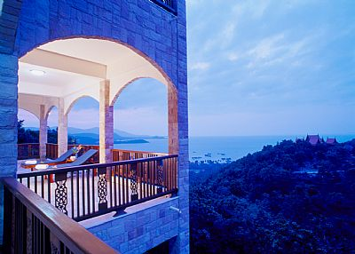 Villa in Thailand, Plai Leam: VIEW FROM 2ND FLOOR