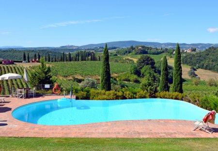 Villa in Certaldo, Italy