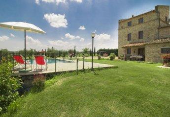 4 bedroom House for rent in Cortona