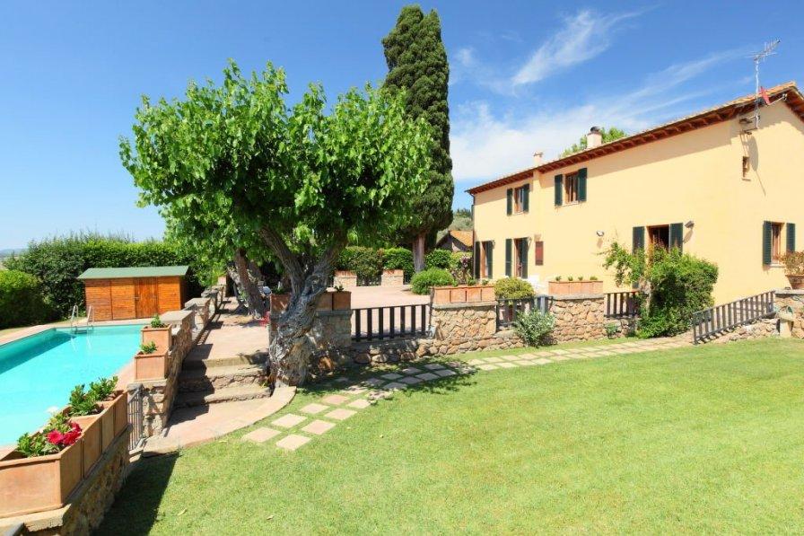 Villa in Italy, Marsiliana