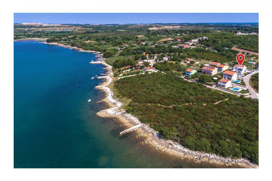 Villa in Croatia, Pomer