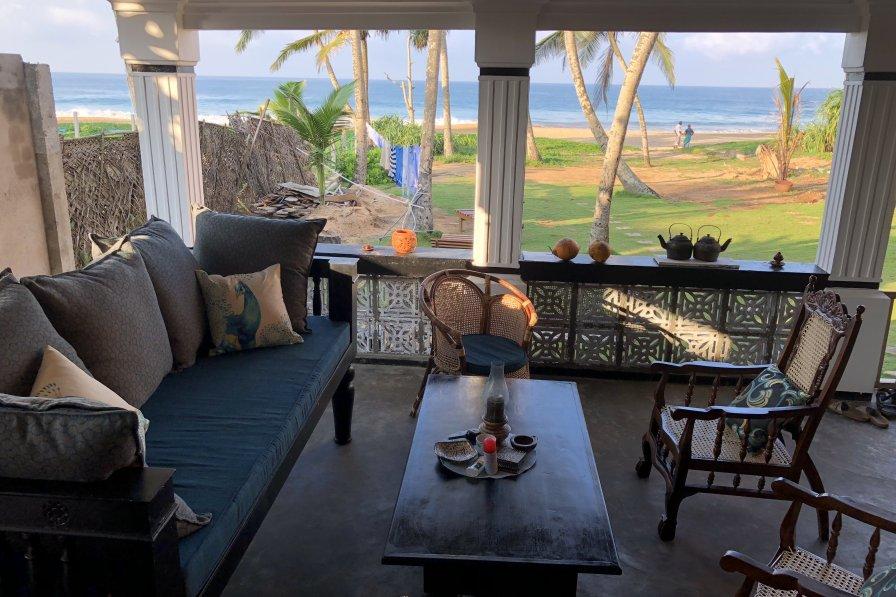 Blue Peacock beach house