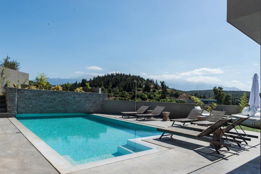 Villa in Greece, Aspro