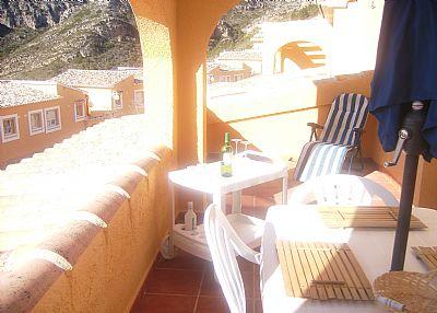 Apartment in Spain, Cumbre del Sol: Patio