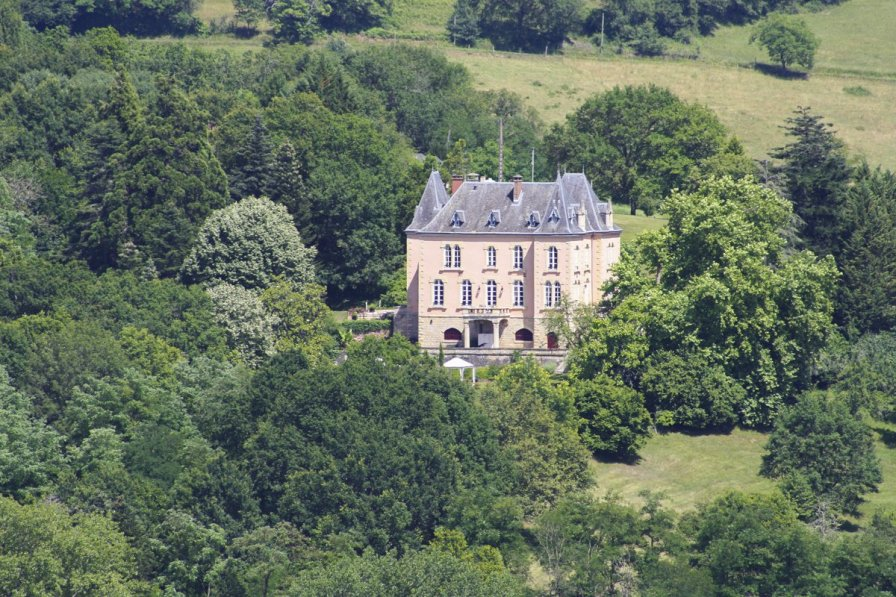 Chateau in France, Perpezac-le-Blanc