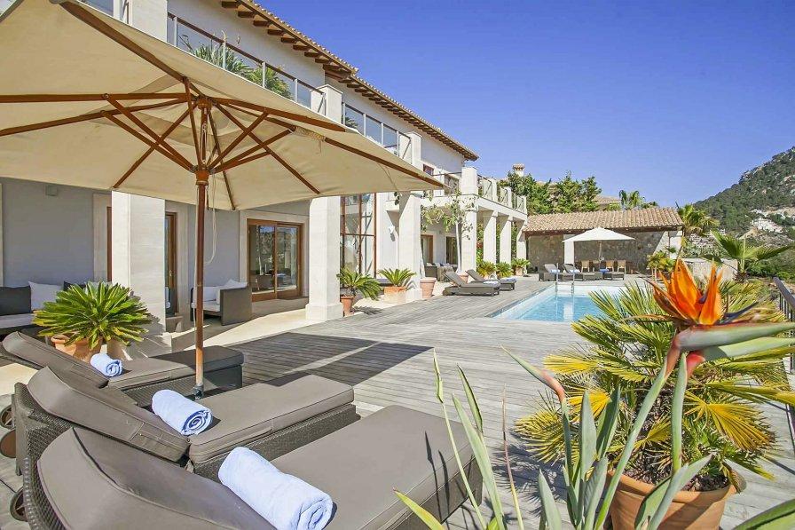 Villa in Spain, Andratx: Finca mieten auf Mallorca