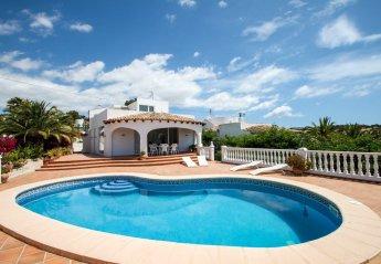 3 bedroom Villa for rent in Moraira