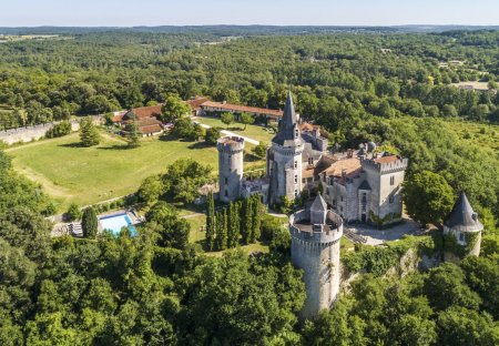 Chateau in Grand-Brassac, France