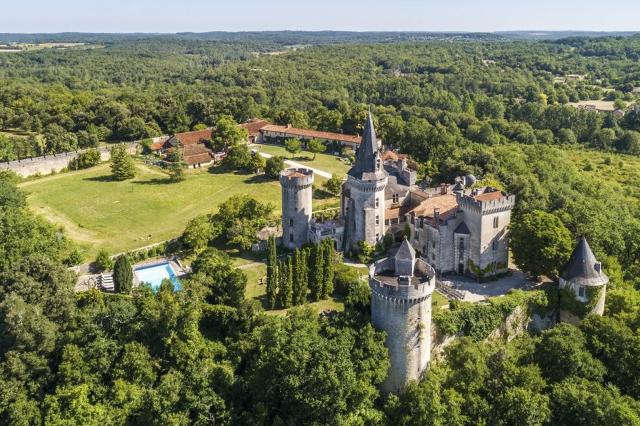 Chateau in France, Grand-Brassac