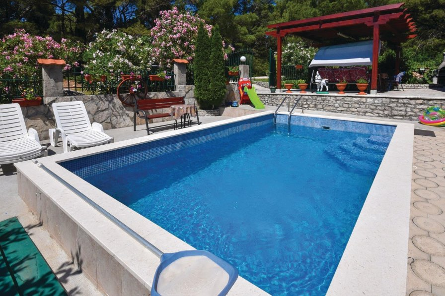 Herceg Novi holiday villa rental with shared pool