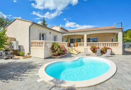 Villa in Barjac, the South of France