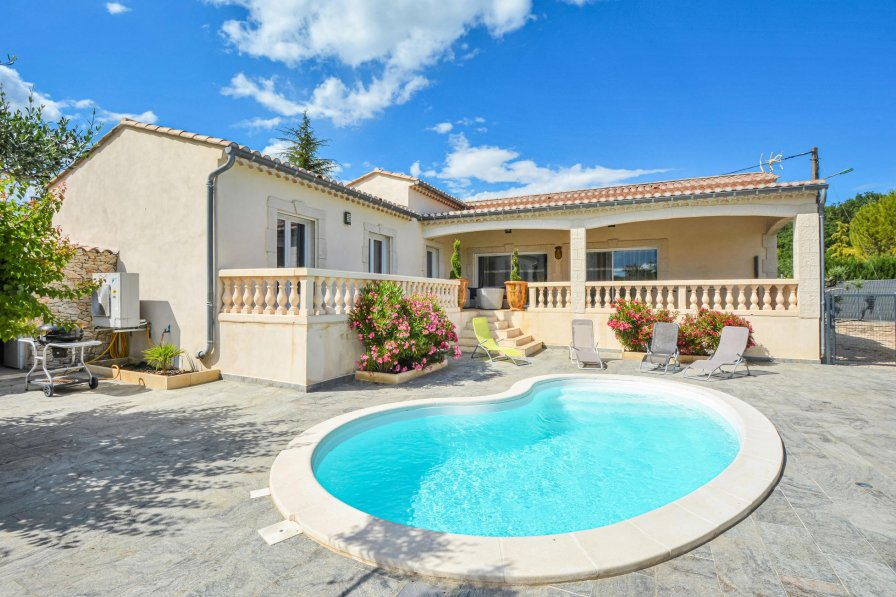 Villa in France, Barjac