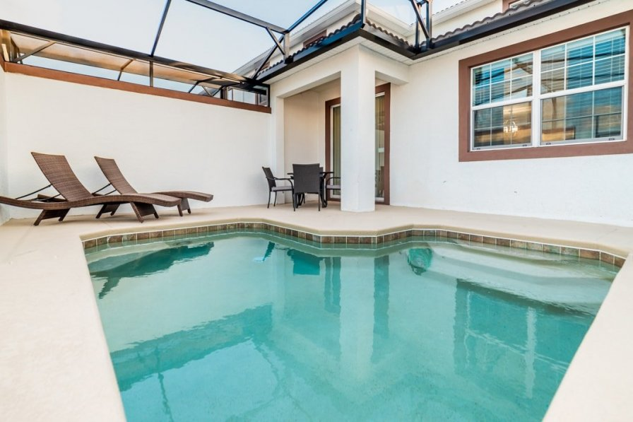Davenport holiday villa rental with private pool