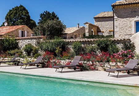 House in Redortiers, the South of France