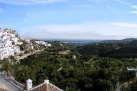 Apartment in Spain, Frigiliana: Seaview from rear terrace