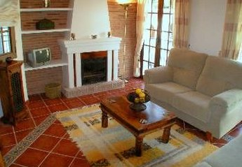 Apartment in Spain, Frigiliana: Living room