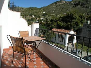 Apartment in Spain, Frigiliana: Front terrace
