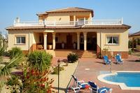 Villa in Spain, Murcia: front view of the villa