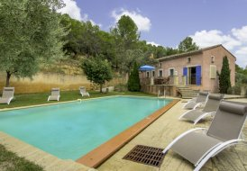 House in Le Barroux, the South of France