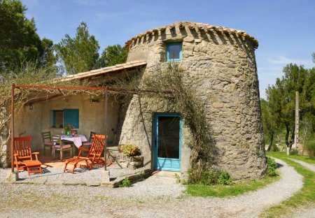 House in Montlaur, the South of France