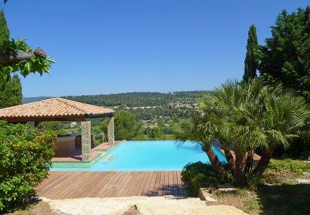 House in La Cadière-d'Azur, the South of France