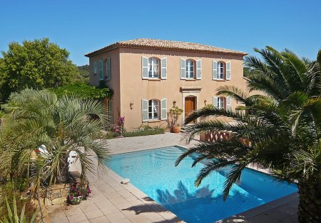 House in Sainte-Maxime, the South of France