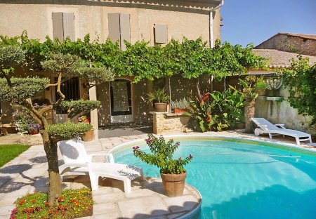 House in Robion, the South of France