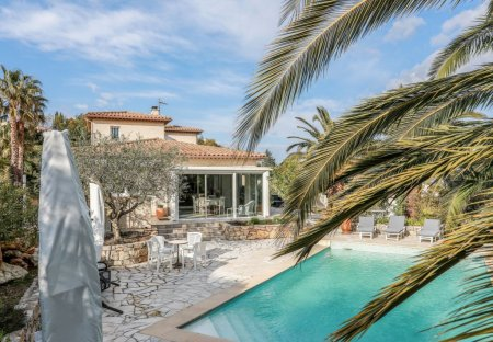 House in Fréjus, the South of France